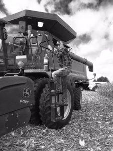 grain harvest operator