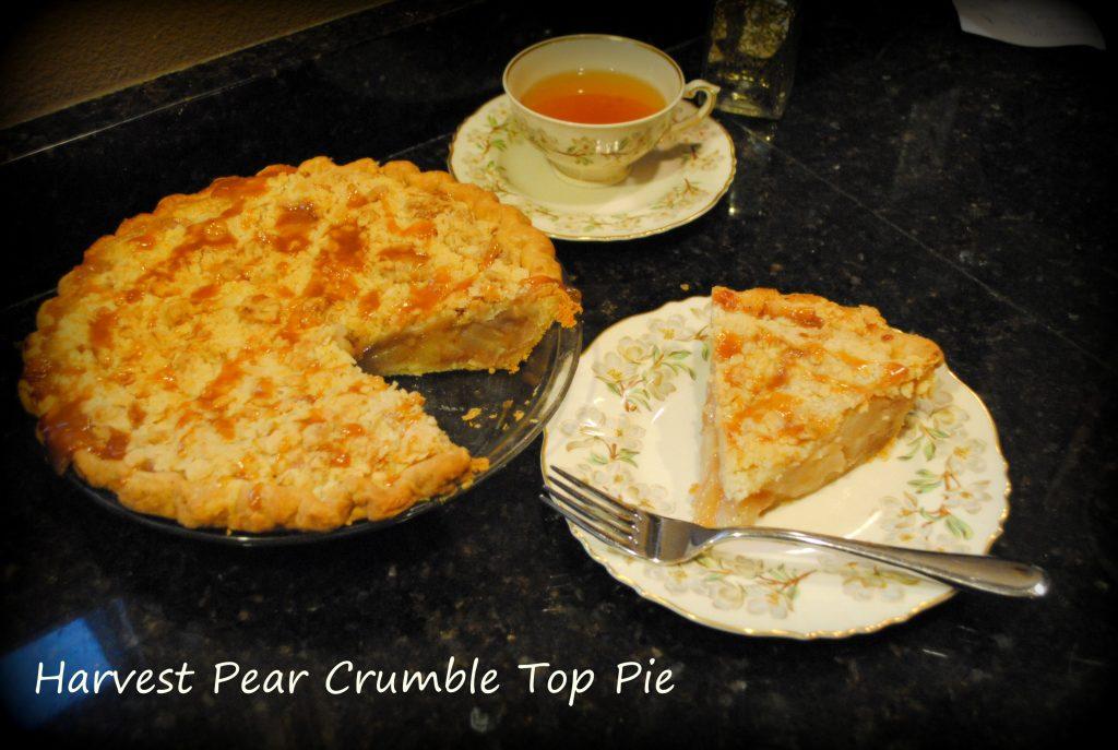 Lard Pastry Pear Pie
