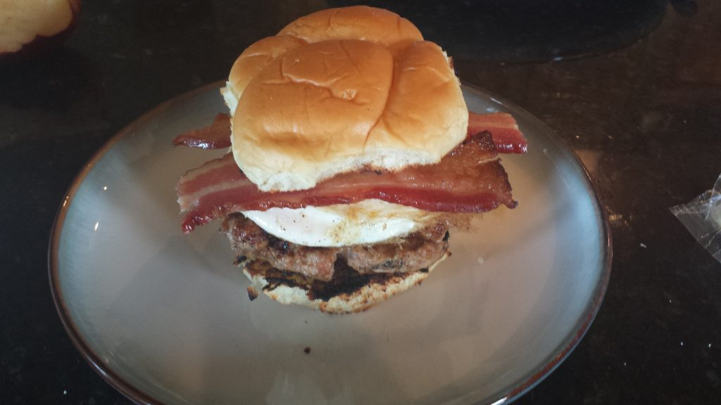PorkBreakfastBurger