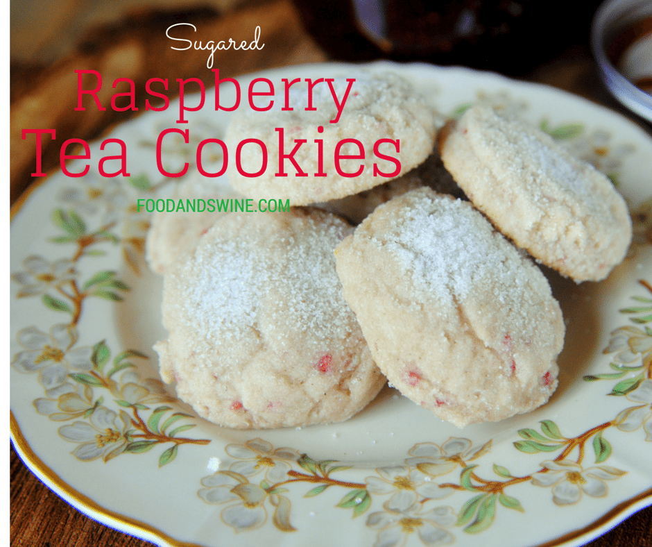 Sugared Jam Cookies