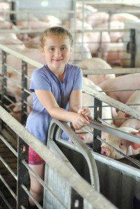 Kid Pig Farmer