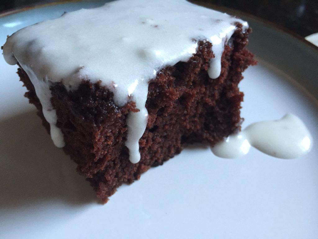 School Lunch Wacky Cake