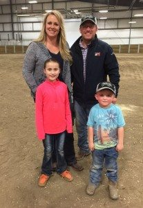pig farmers family