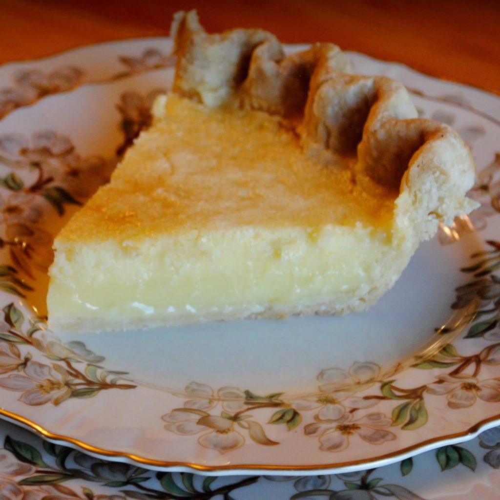 Meyer Lemon Chess Pie And ...
